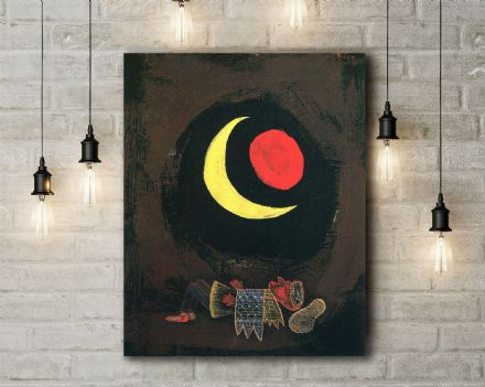 Paul Klee: Strong Dream. Fine Art Canvas.